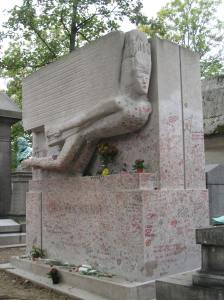 One of my favorite writers happens to be buried in one of my favorite cities. Oscar Wilde's (1854-1900) tomb in Paris.